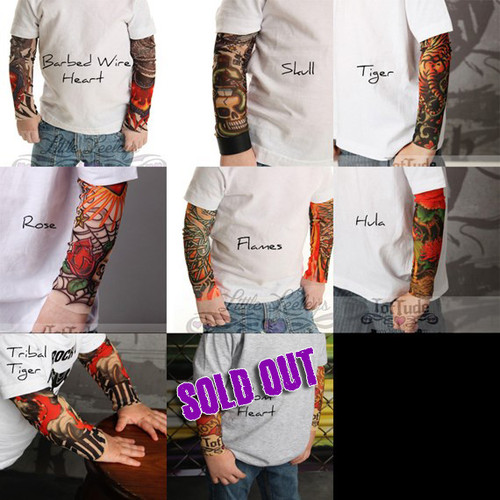 Custom Tattoo Sleeve Shirt for Babies and Toddlers