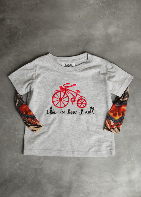 This Is How I Roll Tattoo Sleeve Shirt