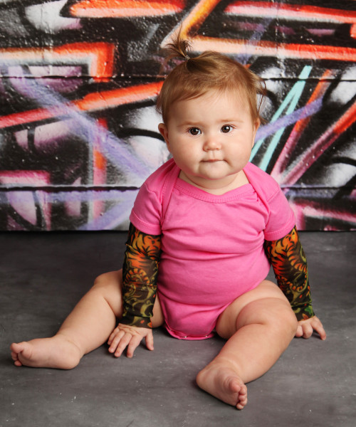 Tiger tattoo sleeve bodysuit
