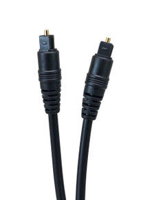 Micro Connectors, Inc. 25' TOSLINK DIGITAL OPTICAL CABLE