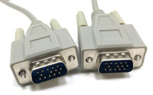 VGA Monitor Replacement Cable HD15 M/M - 10ft