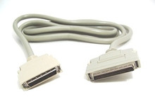 SCSI 3 Cable 68 Pin Male to SCSI 2 HP50 Male With Latches - 6ft