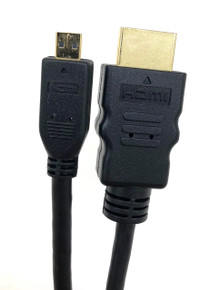 Micro Connectors, Inc. 10' HI-SPEED HDMI A MALE TO MICRO-D MALE CABLE