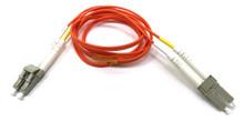 LC / LC Multimode Duplex 62.5/125 Fiber Optic Cable - 1 Meter