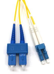 LC / SC Singlemode Duplex 9/125 Fiber Optic Cable - 1 Meter