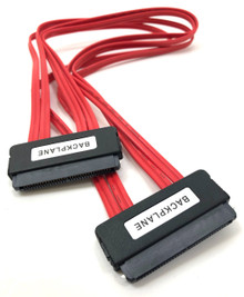 SAS Controller to SAS /SATA Backplane Cable -0.5 Meter ( SFF-8484 to SFF-8484) SATA III (6Gb) Compliant