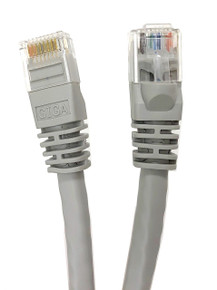 Category 6 UTP RJ45 Patch Cable Gray - 3ft