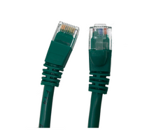 Category 5E UTP RJ45 Patch Cable Green - 10 ft