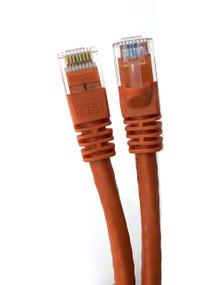 Category 5E UTP RJ45 Patch Cable Orange - 3 ft