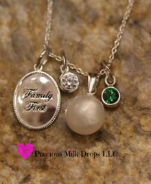 NEW! Family First Sterling sliver Grow with Me Necklace