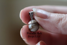 10mm Pendent bail with Hair Natural stone