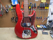 Fender American Original Jazz Bass NOS Never Retailed In The Wrapper Candy Apple Red
