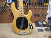 2000 Ernie Ball Music Man Stingray 4 EX Natural - Japan Home Market US Bass