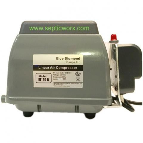 septic worx blue diamond eta 40 septic air pump