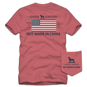 Not Made in China T-Shirt S/S- Nantucket