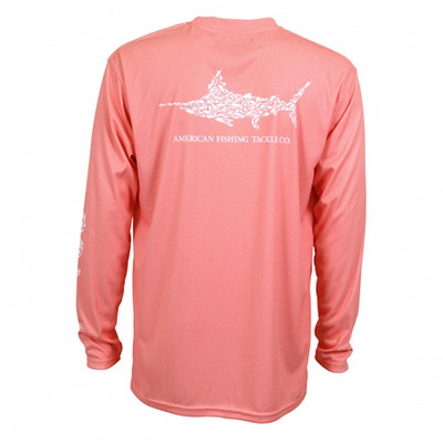 Pigfish L/S Performance Shirt - Coral