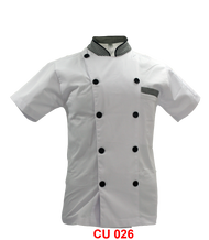 Chef Jacket White With Checker(Young Cutting)