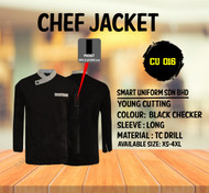 Black Jacket With Chacker (Young Cutting)