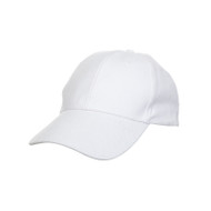 Ready Stock Base Ball Cap White  CP 0100