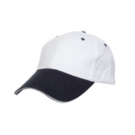 Ready Stock Base Ball Cap White / Navy ( S / White )  CP 0400