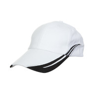 Ready Stock Base Ball Cap White / Black  CP 1200