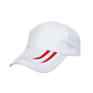 Ready Stock Base Ball Cap White / Red  CP 1400