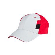 Ready Stock Base Ball Cap White / Red ( S/ Black )  CP 1900