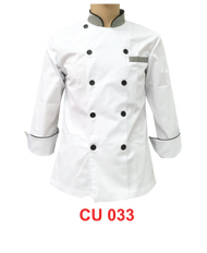White Jacket with Checker(Young Cutting)