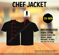Black Jacket with Red Piping(Normal Cutting)-CU029