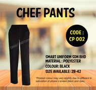 Ready Stock Chef Pant Polyester