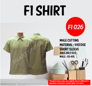 F1 Shirt Lime Green Young Cutting (F1 026)