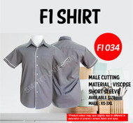 F1 Shirt Lavender Piping White (Young Cutting)