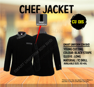 Black Jacket With Small Stripe ( Young Cutting )-CU015