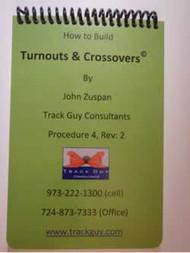 Build Turnouts & Crossovers Pocket Handbook - #32 Paper