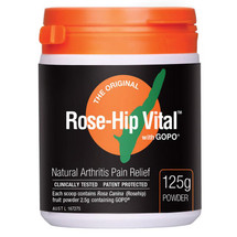 Rose Hip Vital - 125g - Powder, Rose Hip Powder