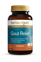 Herbs of Gold Gout Relief - 60 Capsules