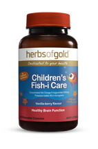 Herbs of Gold Children's Fish-i Care - 60 Chewable Squirts