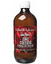 Full health industries Zinc Colloid 500mls