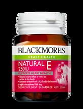 Blackmores Vitamin E 250IU - 50 Capsules