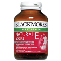 Blackmores Natural Vitamin E 500 iu  150 Capsules