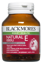 Blackmores Natural Vitamin E 1000 iu