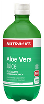 NutraLife Organic Aloe Vera + Active Manuka Honey Juice