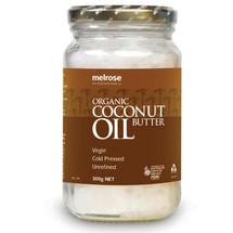 Melrose Organic Coconut Oil (Butter) - 300g