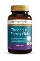 Herbs of Gold Ginseng 4 Energy Gold - Tablets