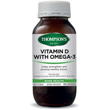 Thompson's Vitamin D with Omega 3 - Capsules