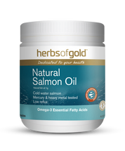 Herbs of Gold Natural Salmon Oil - Capsules