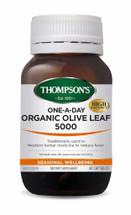 Thompson's Organic Olive Leaf 5000    -  60 capsules