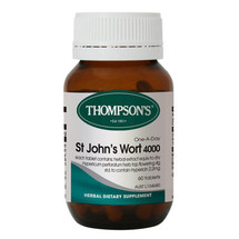 Thompsons St John's Wort 4000 - 60 Tablets