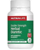 Nutralife Herbal Diuretic Double Strength Formula capsules