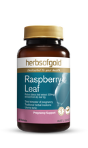 Herbs of Gold Raspberry Leaf -  60 Tablets